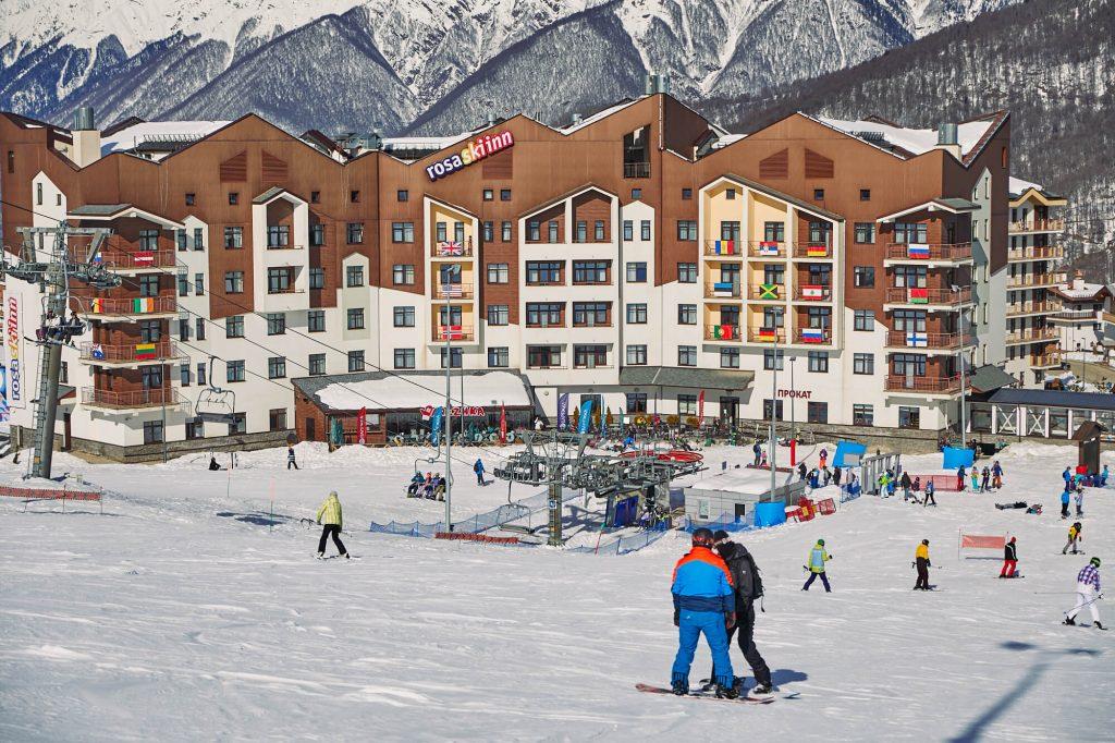 отель роза хутор rosa ski inn