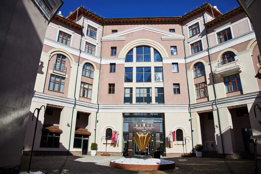 отель rixos красная поляна