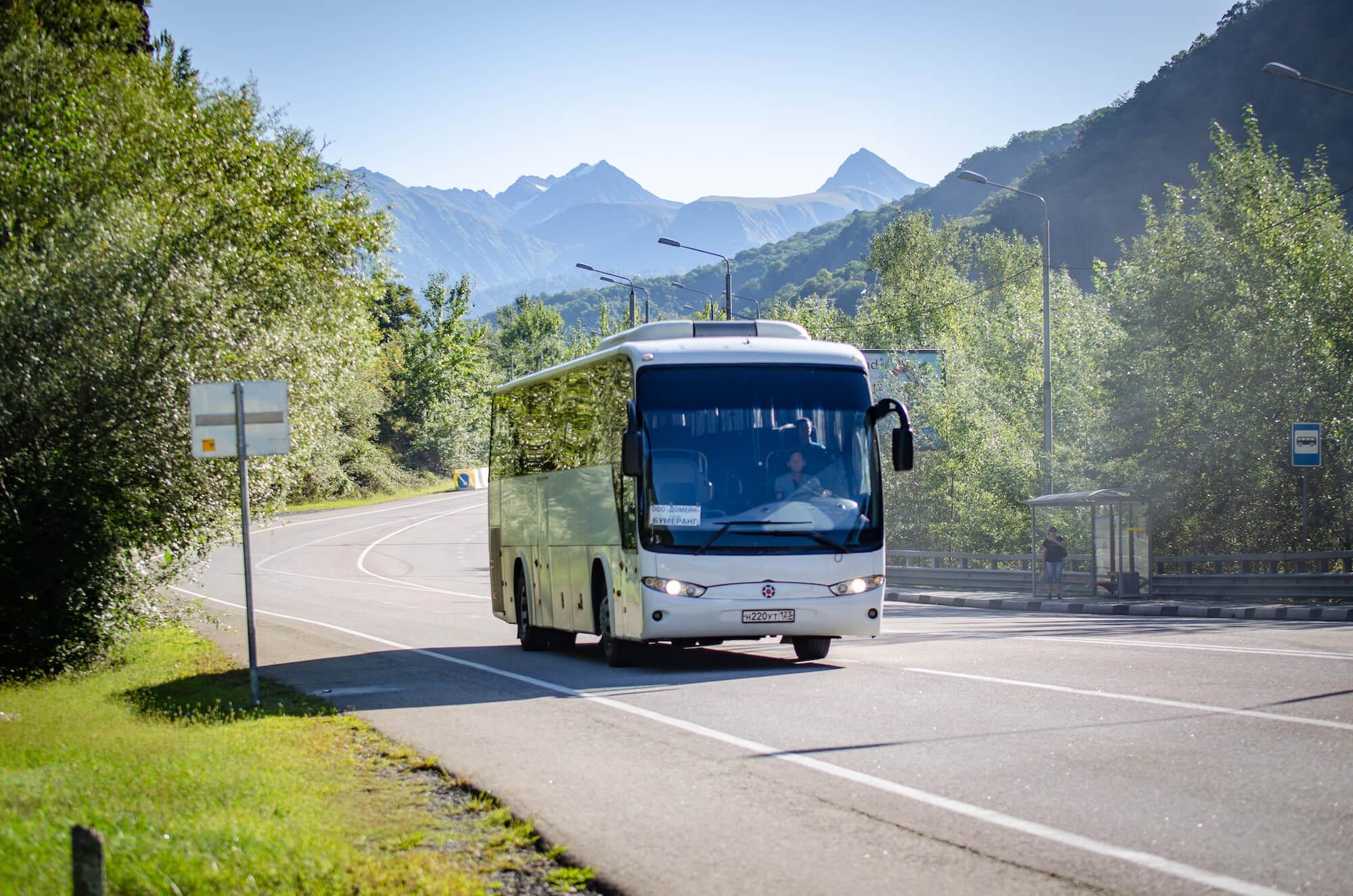 автобус красная поляна