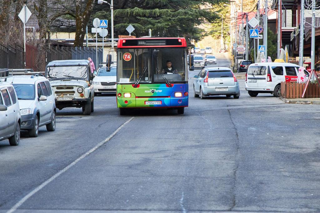 Автобус между курортами ски-басс