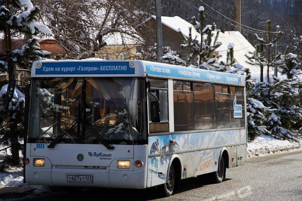 автобус на гтц газпром