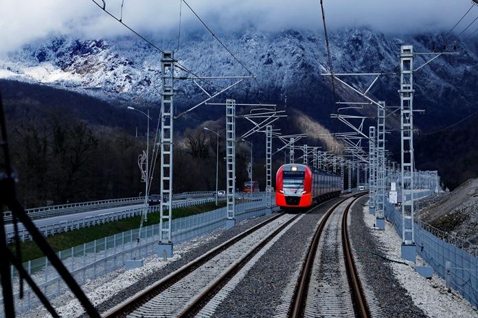 поезд лыжная стрела