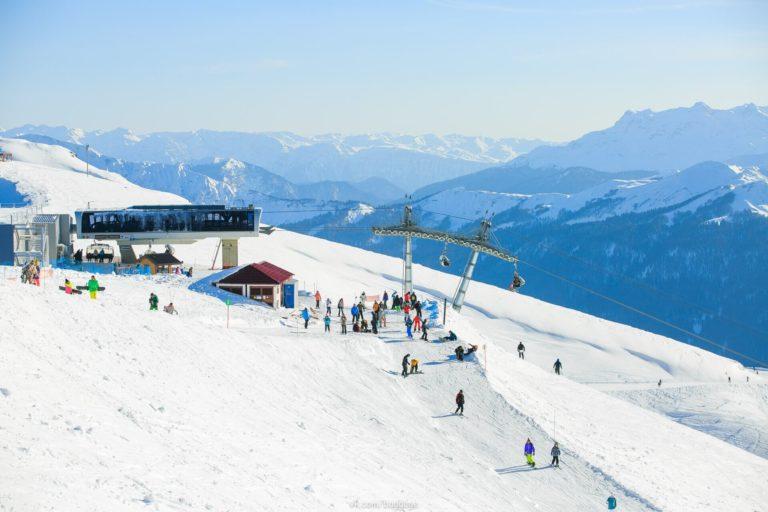 единый ски-пасс в Красной поляне