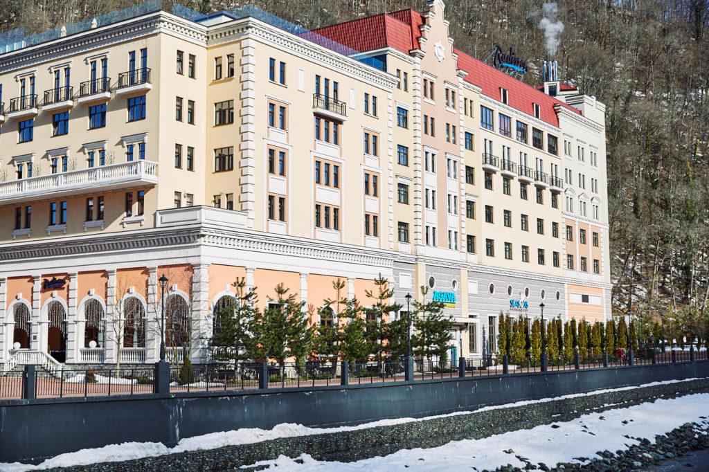 отель radisson rosa khutor роза хутор