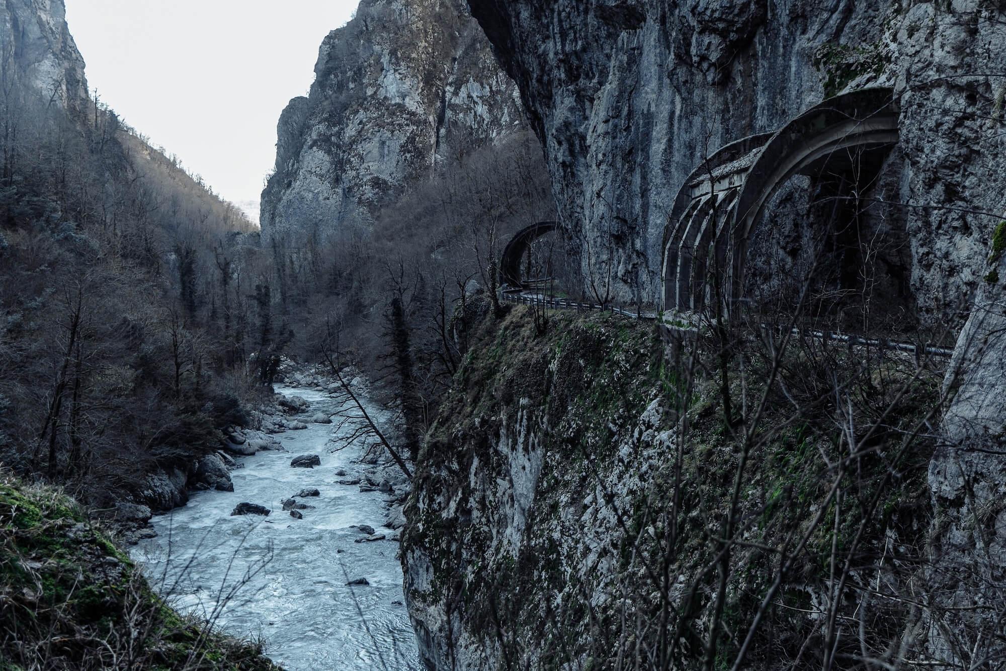 Старая дорога Красная ПОляна Адлер