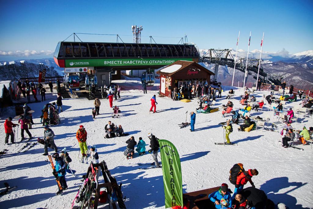 Горнолыжный сезон 2020 в «Красной поляне» продлится до середины апреля