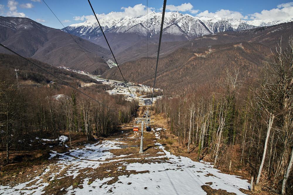 Закрытие горнолыжного сезона 2020 в Красной Поляне