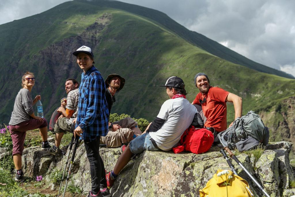красная поляна поход в горы бзерпинский карниз