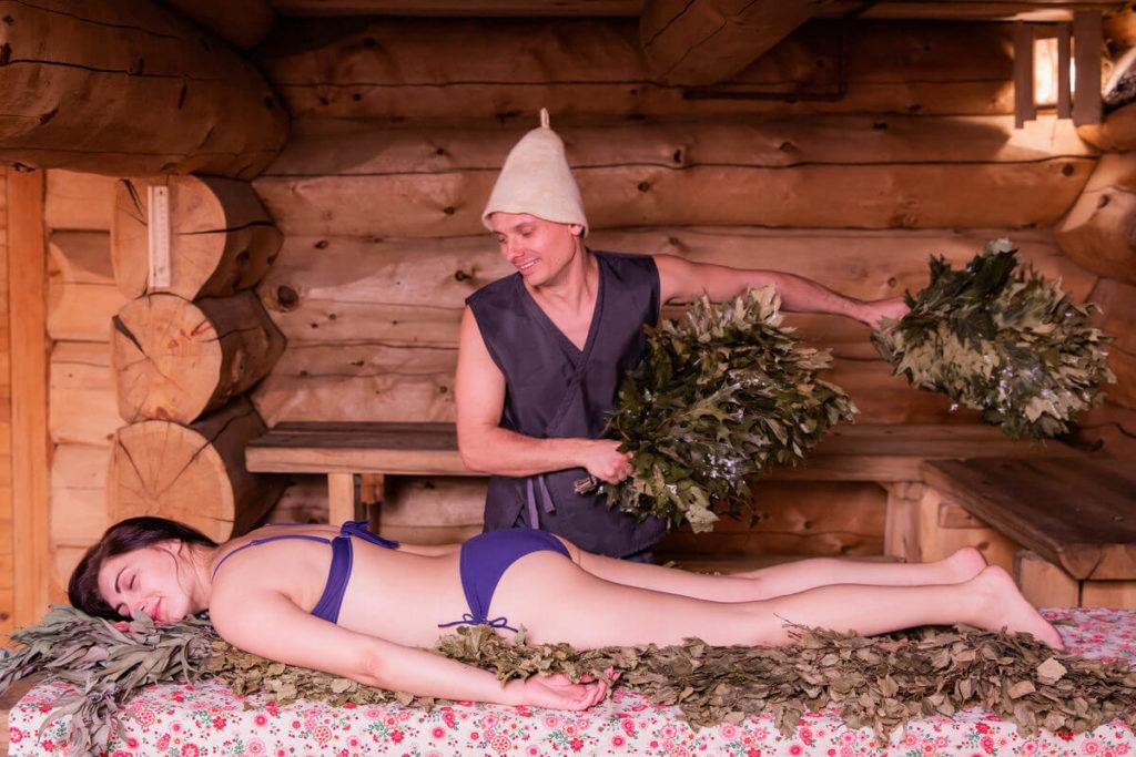 Жаркая баня в Красной Поляне