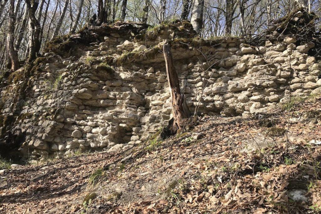 Ачипсинская крепость и смотровая площадка