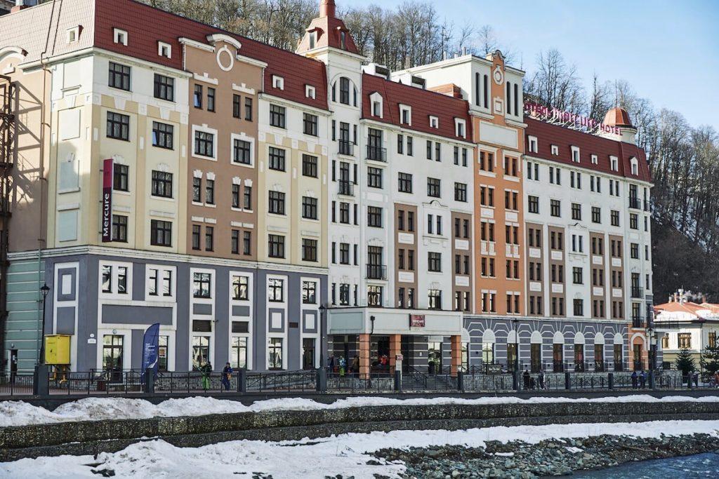Отель Mercure Rosa Khutor