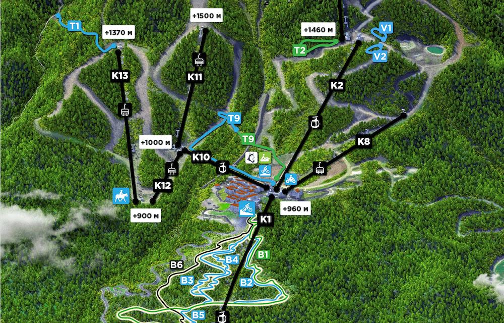Пеший маршрут на Водопад Поликаря
