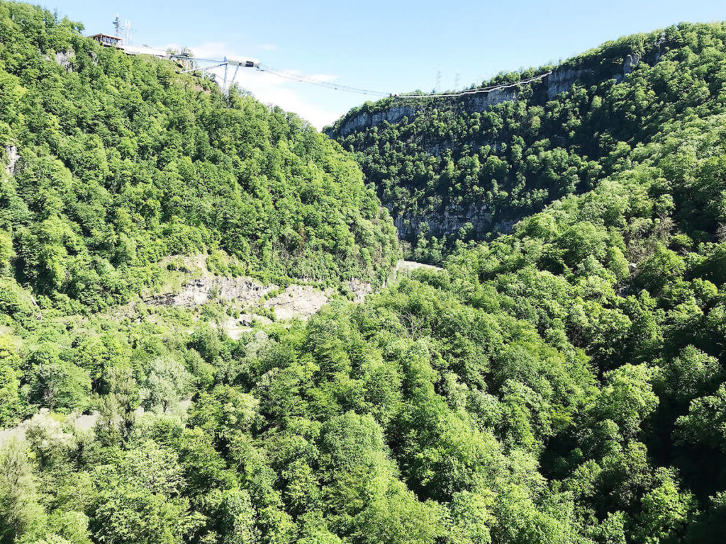 Маршрут к Дзыхринскому водопаду