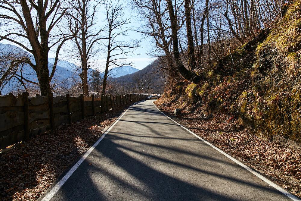 Прогулка по верхней дороге