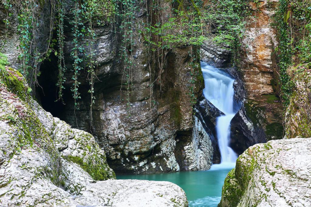Агурское ущелье Сочи