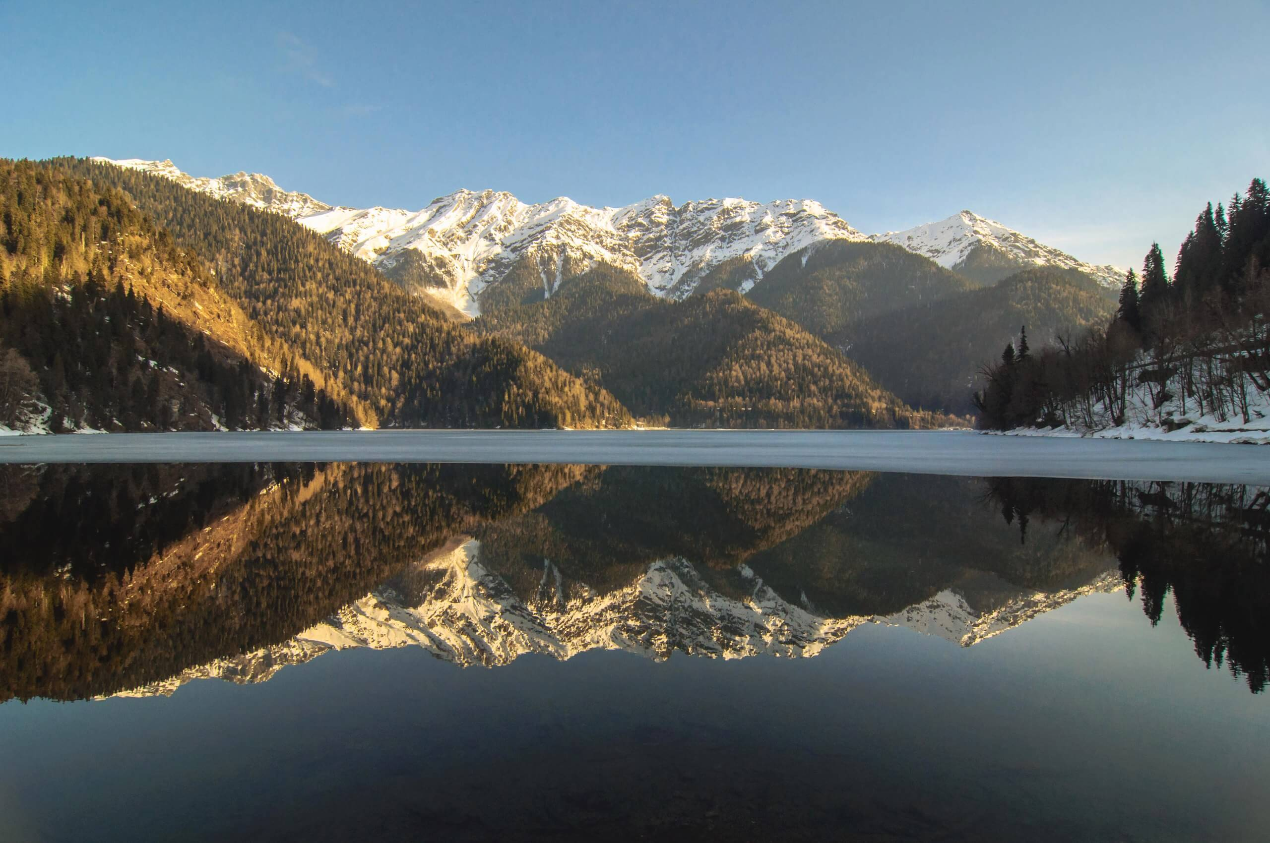 экскурсия озеро Рица абхазия