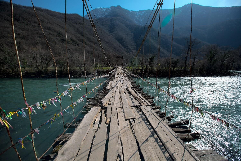 абхазия рица мост