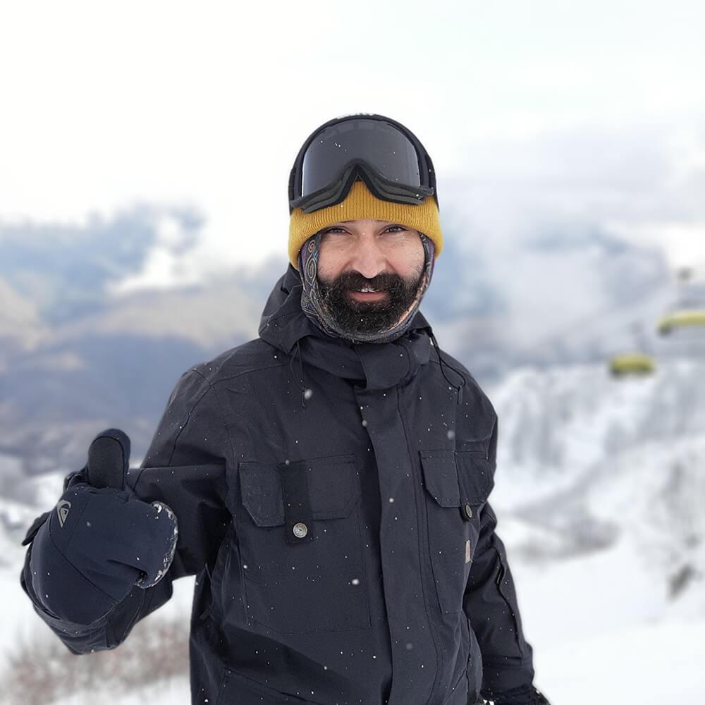 Михаил инструктор гид сноуборд красная поляна