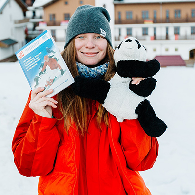 Анастасия инструктор гид сноуборд красная поляна