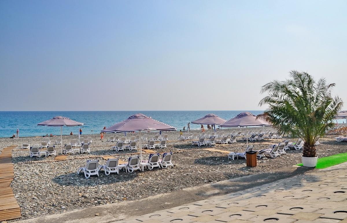 пляж Ривьера сочи