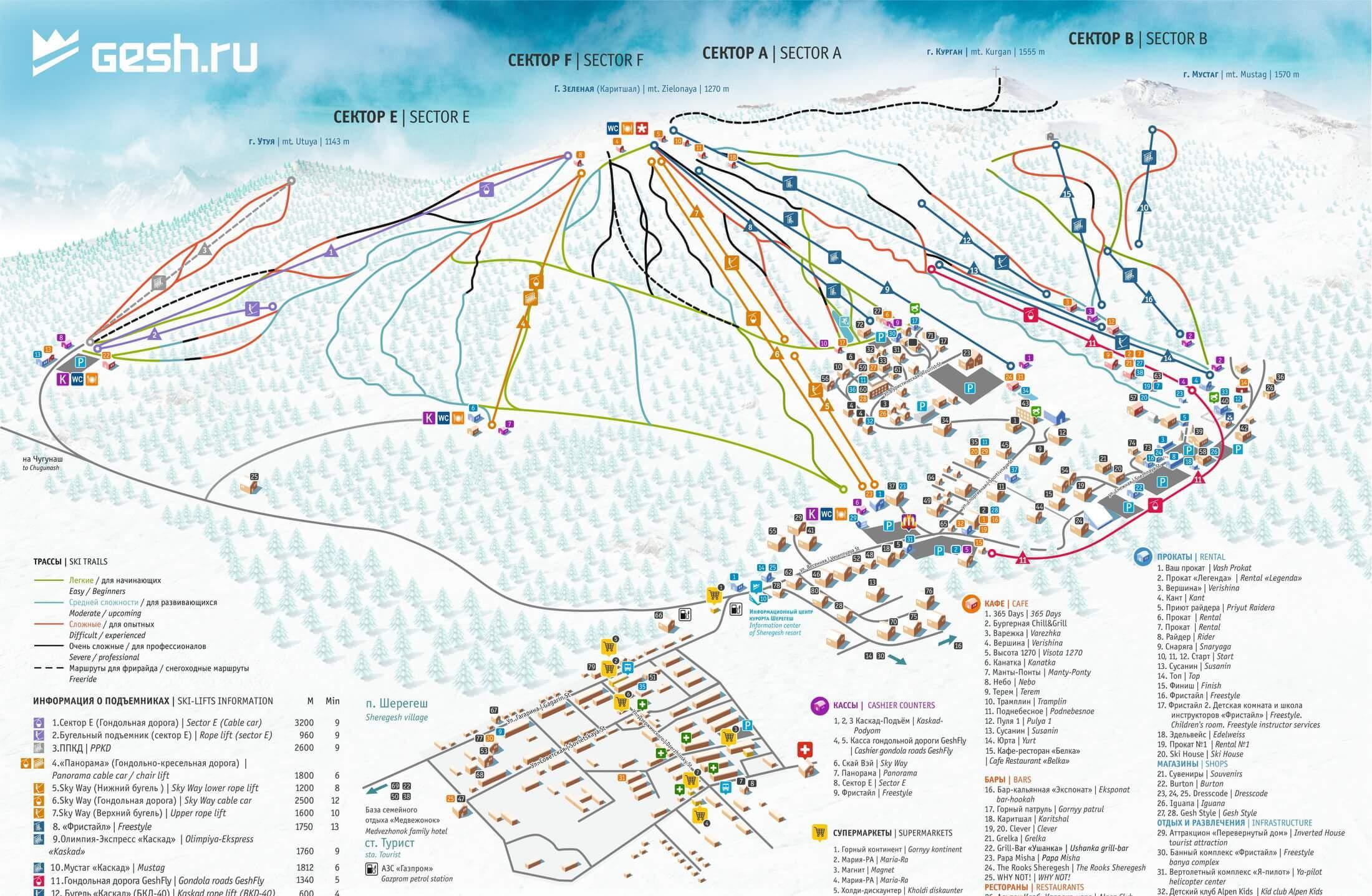 Горнолыжный курорт Шерегеш — цены, катание, отдых