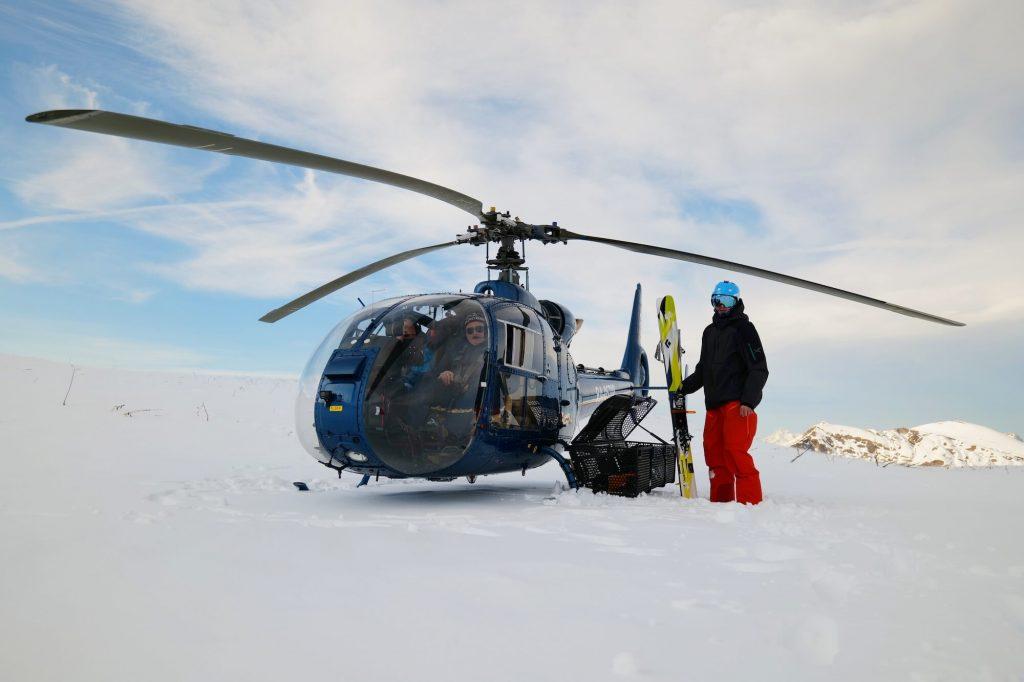 хели-ски в абхазии
