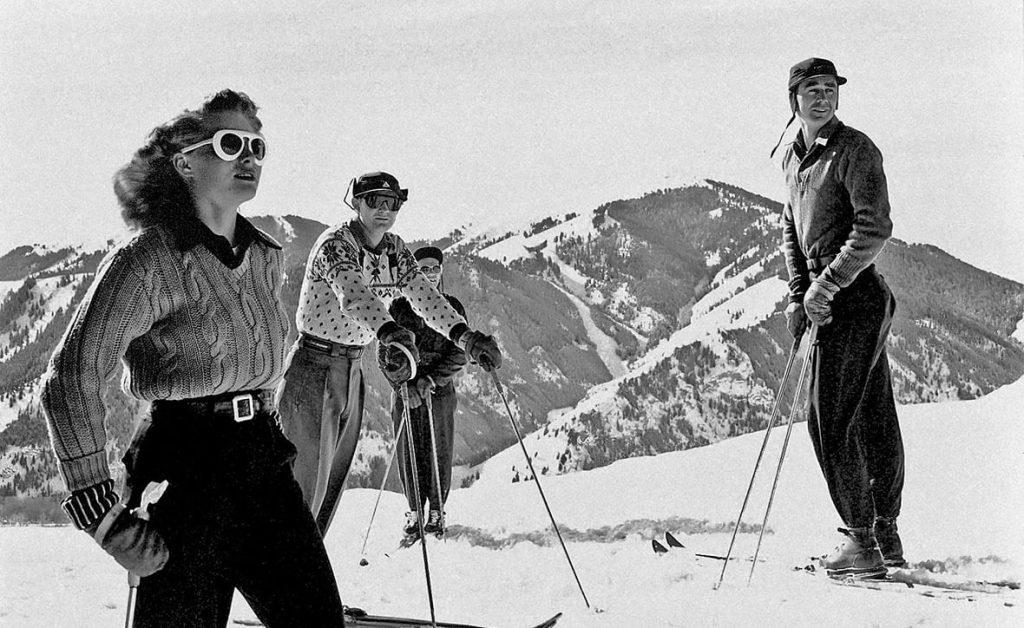 oldschool горнолыжные палки