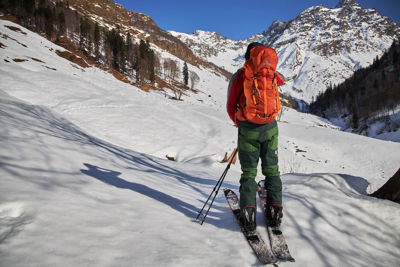 ски-тур в абхазии
