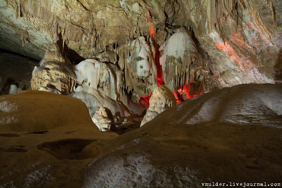 пещера новый афон