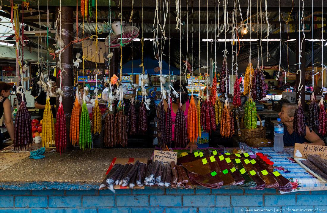 рынок в абхазии