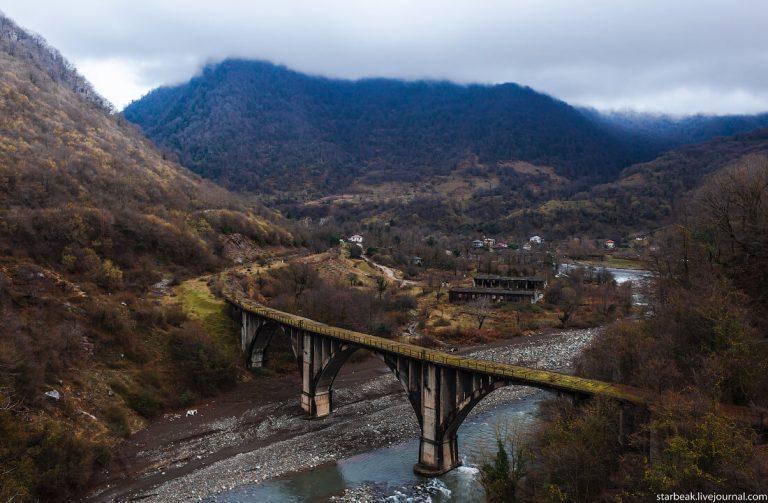 абхазия Акармарский мост