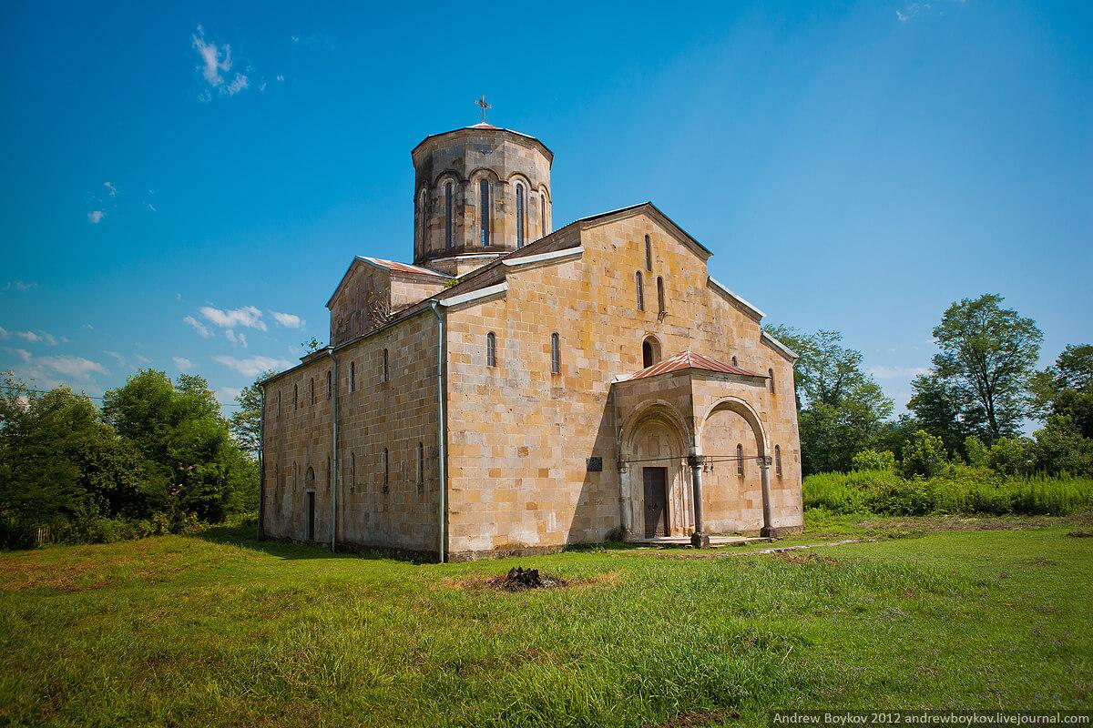 Моквский собор абхазия достопримечательности