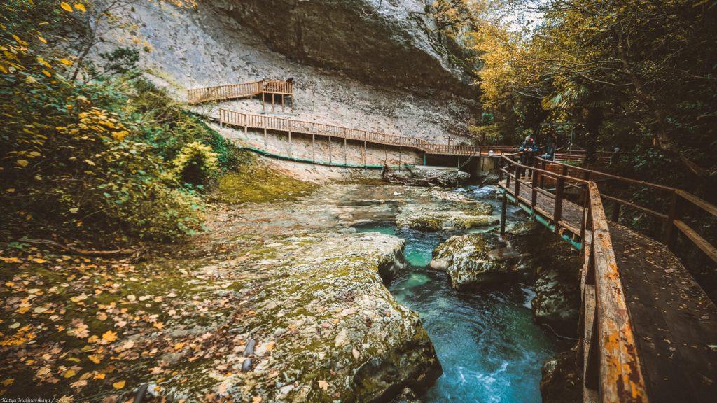 Ущелье Черниговка Абхазия