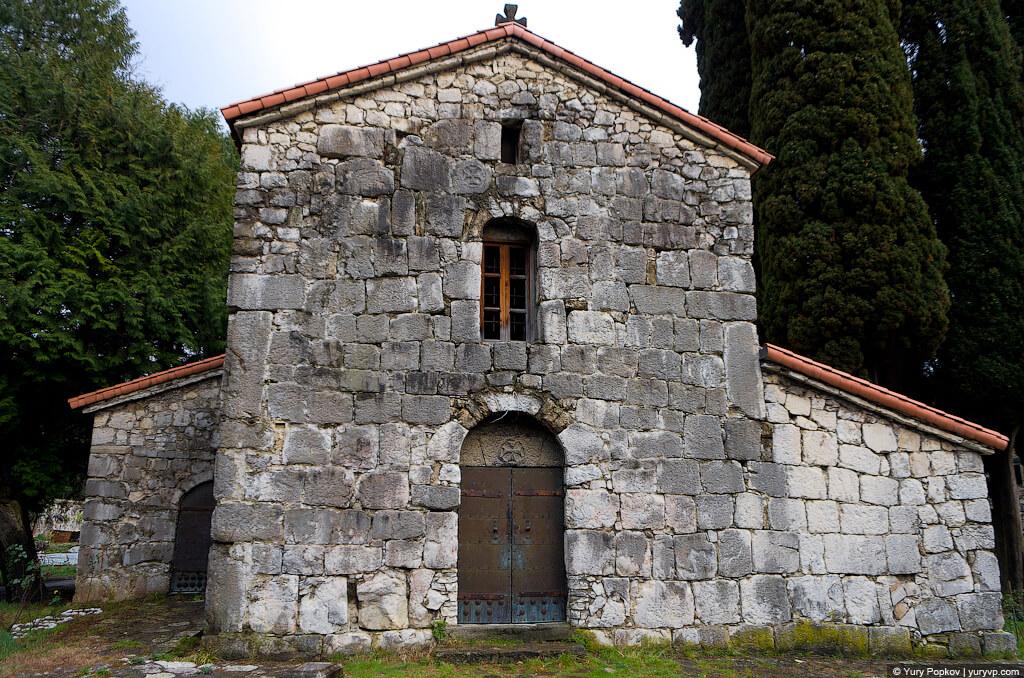 Крепость Абаата достопримечательности абхазия