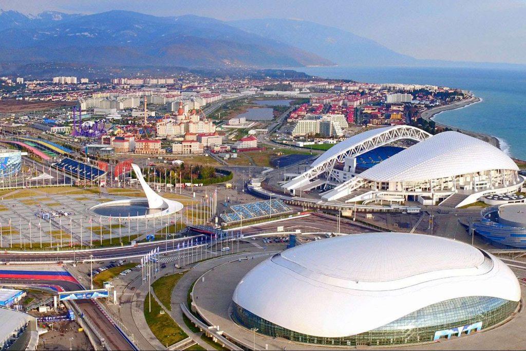 Имеретинский курорт стадион фишт ледовая арена