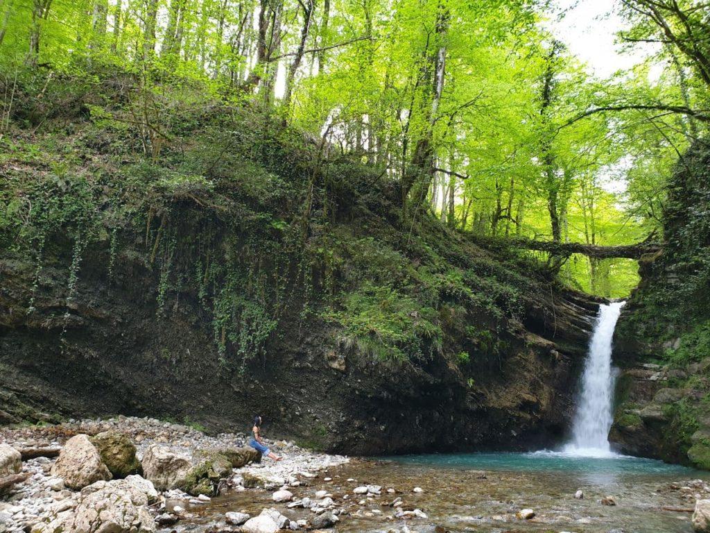 ивановский водопад красная поляна