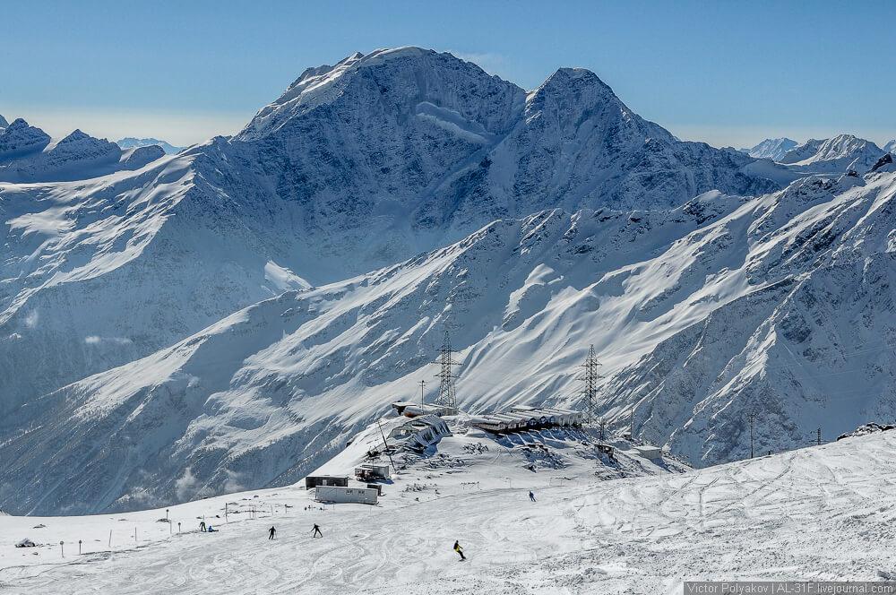 горнолыжный курорт эльбрус