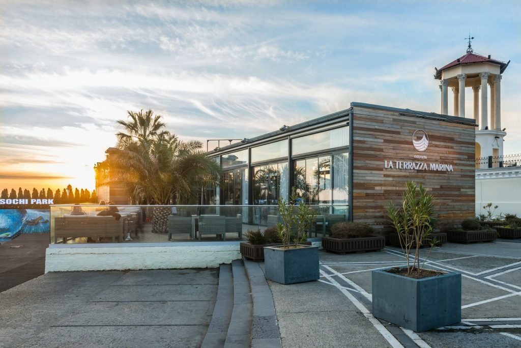 ресторан сочи la terrazza marina