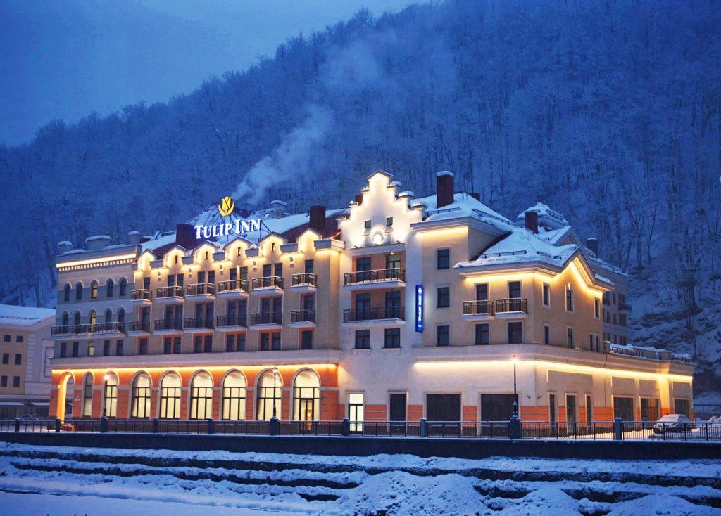 Отель Tulip Inn Rosa Khutor Hotel роза хутор